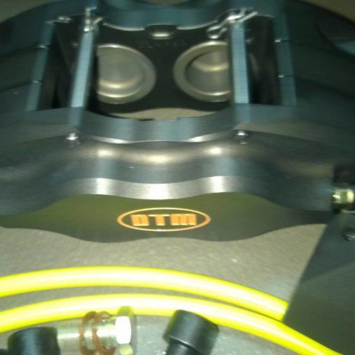 SMART 451 4piston x 35mm RACING BRAKE KIT DTM (no disks)