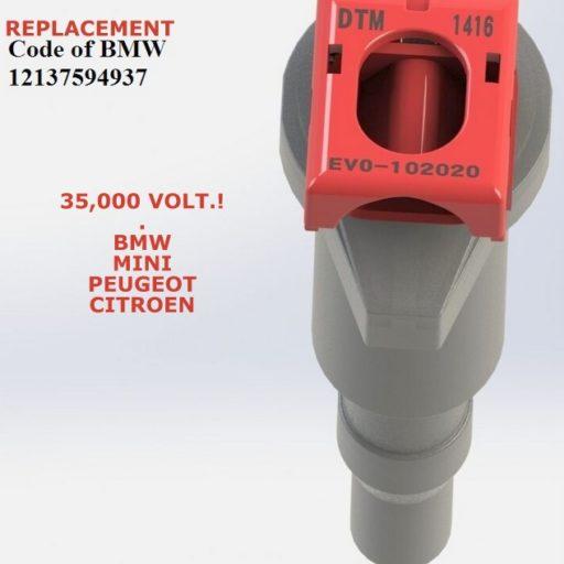 evo MINI R60 COUNTRYMAN + all4 DTM PERFORMANCE EVO RED COILS /DTM.COIL.102020.