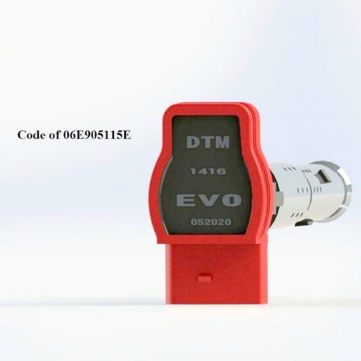 evo AUDI TTRS 8J 2,5 5CLD TSI TFSI DTM PERFORMANCE EVO RED COILS / DTM.EVO-052020