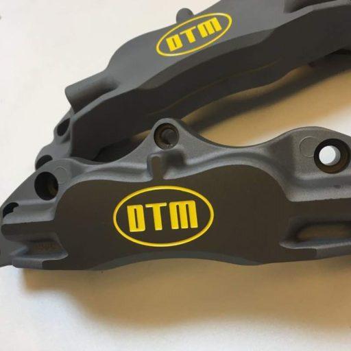 DTM 4 x 42mm RACING ALUMINIUM PISTONS GRAY ANODIZE RACING BRAKE CALIPERS DTM.R.4