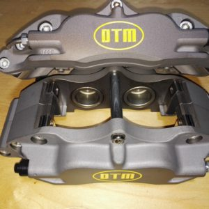 DTM R,line R4 ROAD RACE BRAKE CALIPERS, DTM.R4.GRAY ANODIZED x 2350 grms