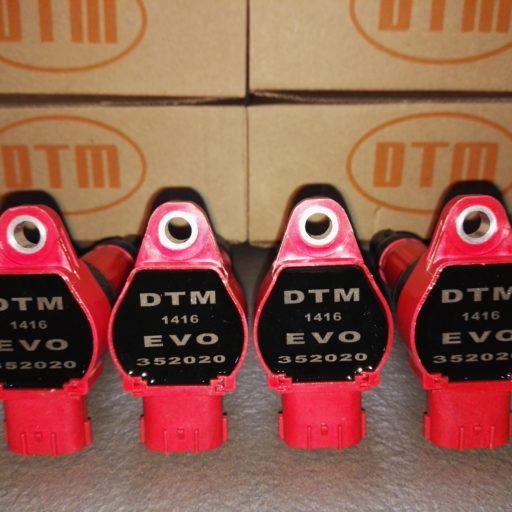 evo MITSUBISHI COLT 6-Z DTM PERFORMANCE EVO RED COILS 35,000 volt/ DTM.EVO-352020