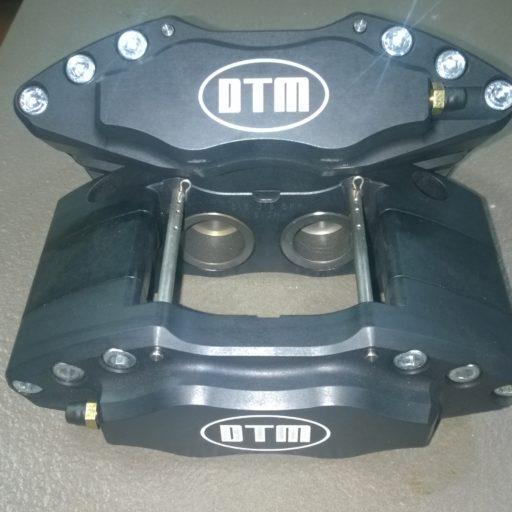 DTM S, 4x42mm RACING ALUMINIUM PISTONS BLACK ANODIZE, RACING BRAKE CALIPERS DTM.S1-4.BLACK