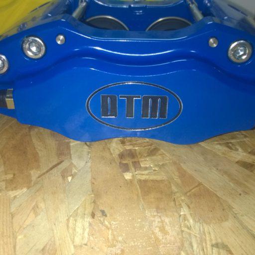 DTM S, 4x42mm RACING ALUMINIUM PISTONS BLUE, RACING BRAKE CALIPERS DTM.S1-4.BLUE