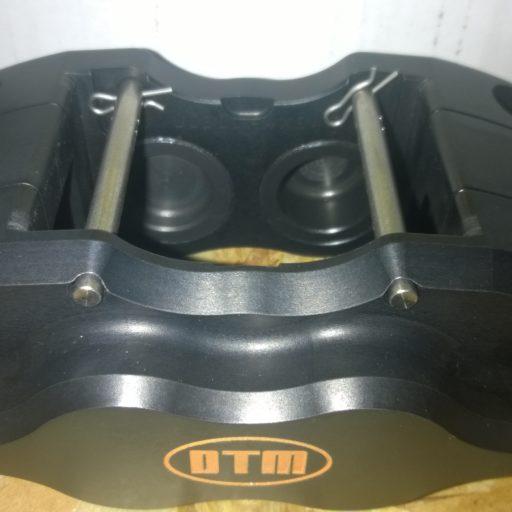 DTM 4 x 35mm racing aluminium pistons black anodize  RACING BRAKE CALIPERS DTM.S2-4