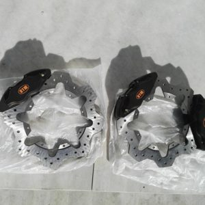 DTM RACING BRAKE KIT (drift) KIT 6 CALIPERS FULL FRONT+REAR