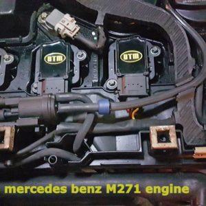 genesis MERCEDES BENZ SLK R171 W204 W209 W211 (M271) DTM MOTORSPORT GENESIS YELLOW COILS .DTM.COIL.301030